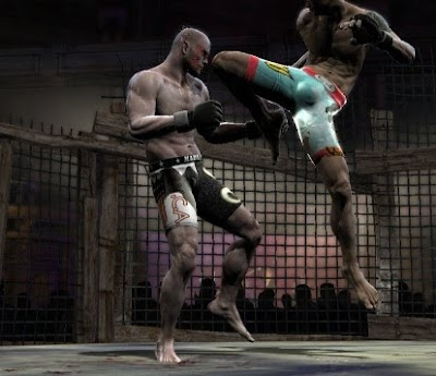 Supremacy MMA, ps3, game, screen