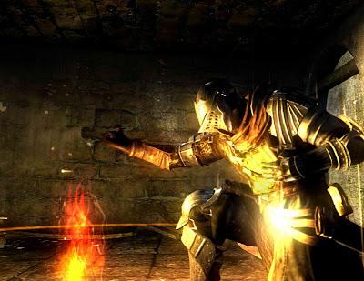 Dark Souls, game,  Xbox, screen