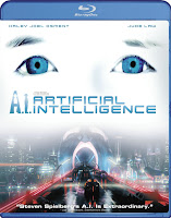 A.I. Artificial, Intelligence, blu-ray, cover