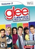 Karaoke Revolution, Glee 2, volume 2, song, track list, Wii
