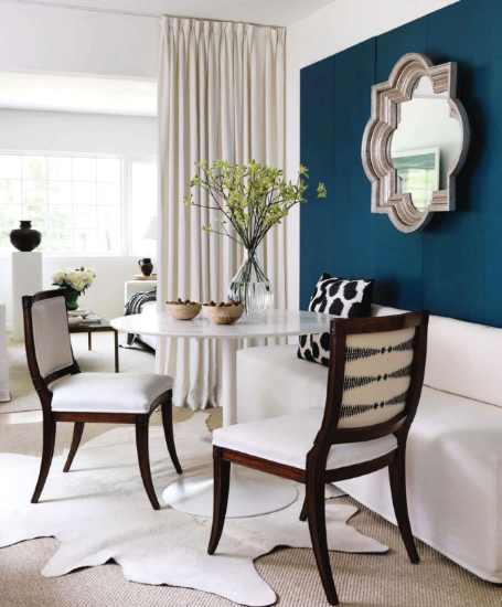 delight by design loving teal accent wall