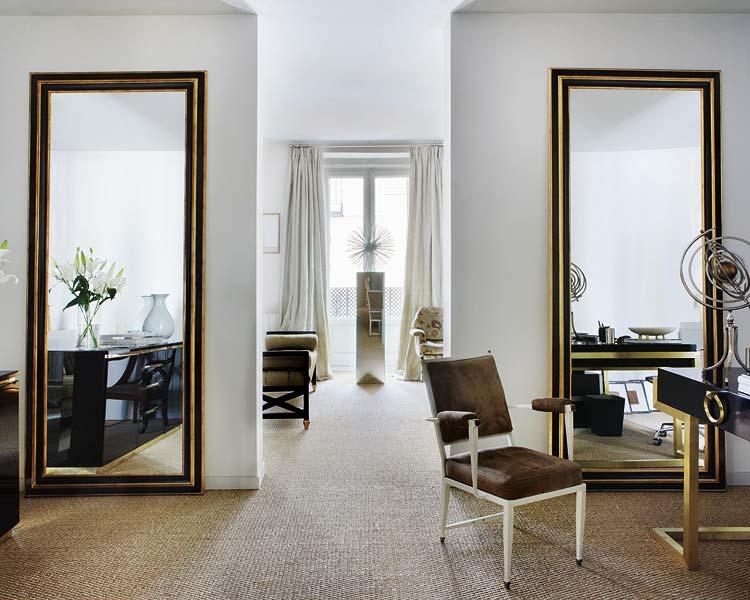 Delight by design home crush mirrored contemporary for Espejos grandes decorativos