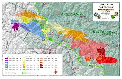 Cfn California Fire News Cal Fire News Inciweb Update Zaca