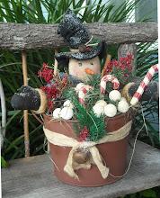 #310 Snowman Bucket