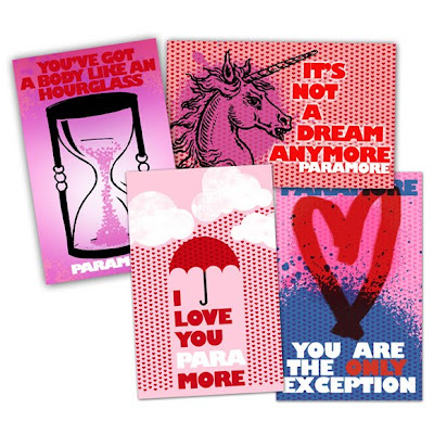 Paramore Valentines Card