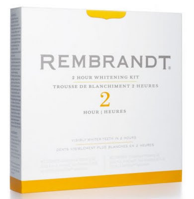 Rembrandt teeth whitening treatment kit