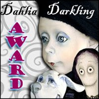 Jodi's Fab Dahlia Darkling friendship Award