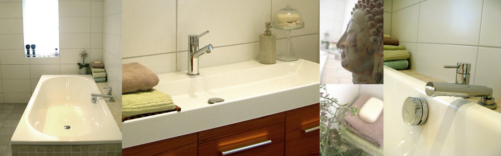 Formelle design: 4 badrum   före och efter
