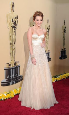Podio en la alfombra roja: Oscars 2010