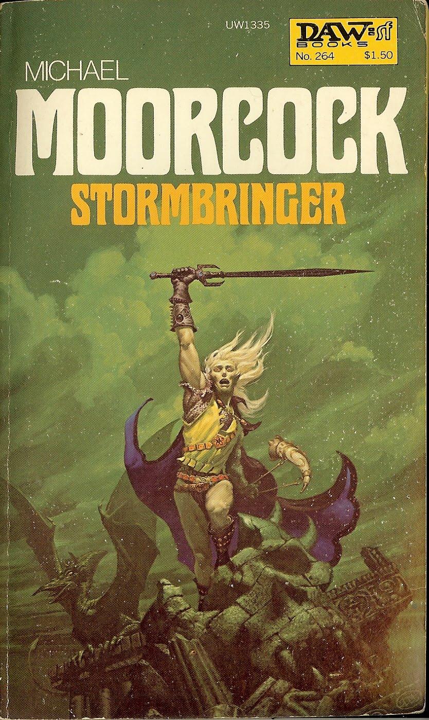 Book Cover Art Commission : Rip jagger s dojo elric of melnibone