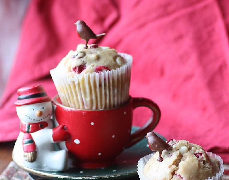 Cranberry White Chocolate Muffins Uk