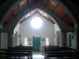 Catholic church New Bight designed by Father Jerome