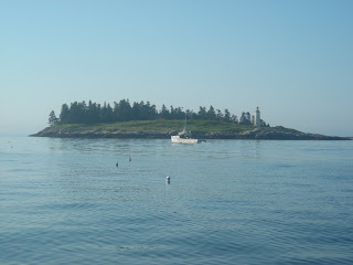 typical Maine island
