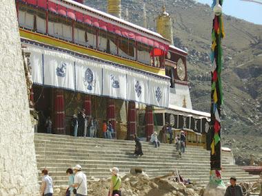 Tibet inside. Drepung Monastery