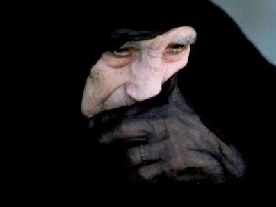 75-yr-old Syrian widow Khamisa Mohammed Sawadi
