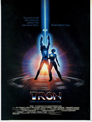 Tron (1982) poster