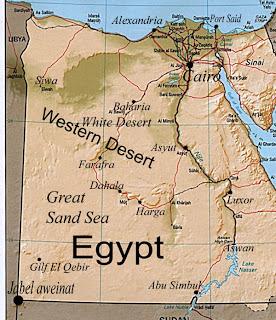 European Adventures Bahariya OasisWestern Desert Egypt - Map of egypt oasis