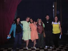 En Necochea. Festival Teatro Trueno 2008