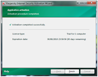 Cara Reset Trial Kaspersky Internet Security 2010