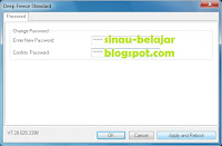 instal setting aplikasi deep freeze 7.20 windows 7