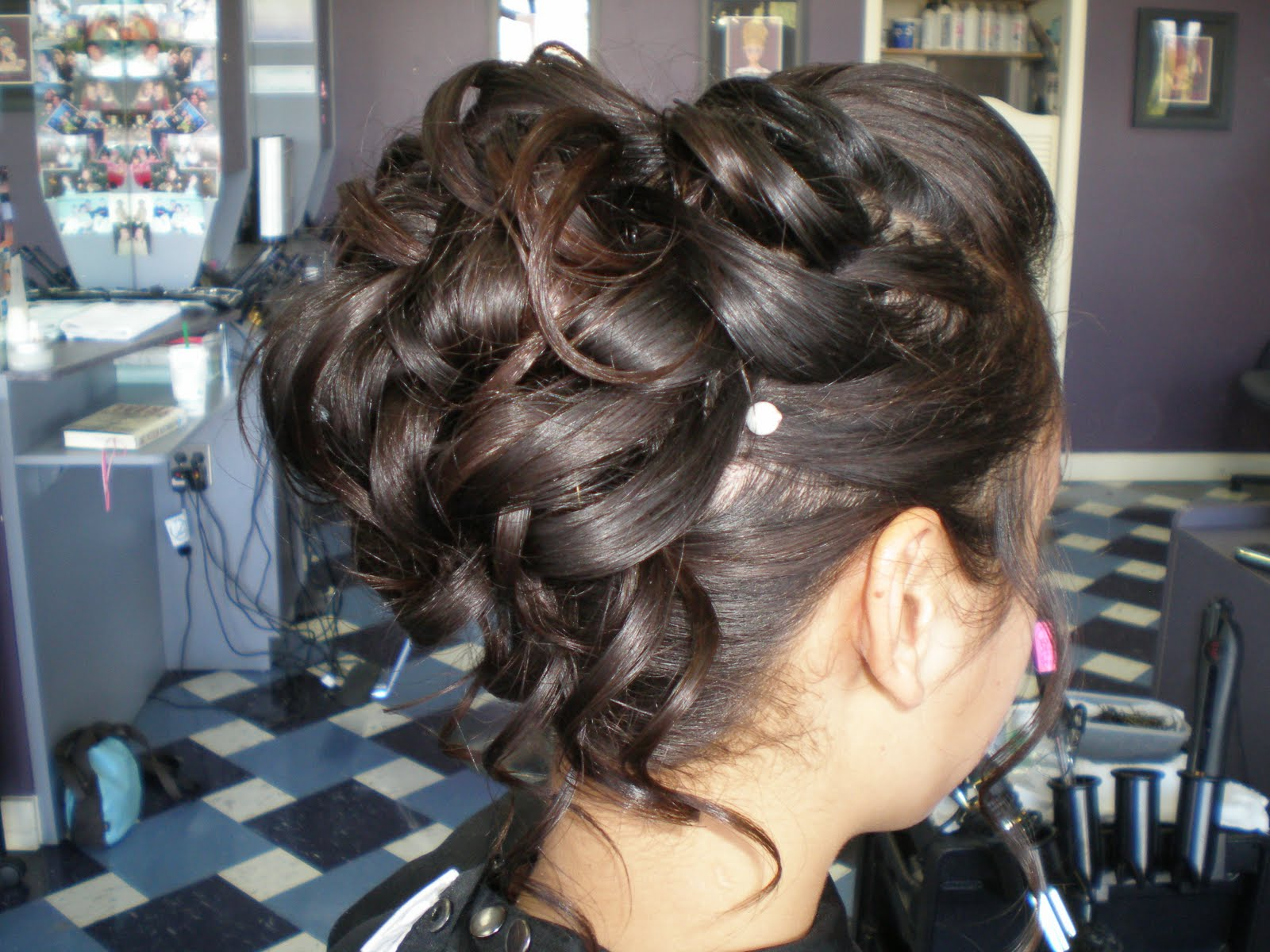 Homecoming Hairstyles on Katelyn Kearns  Prom Updos