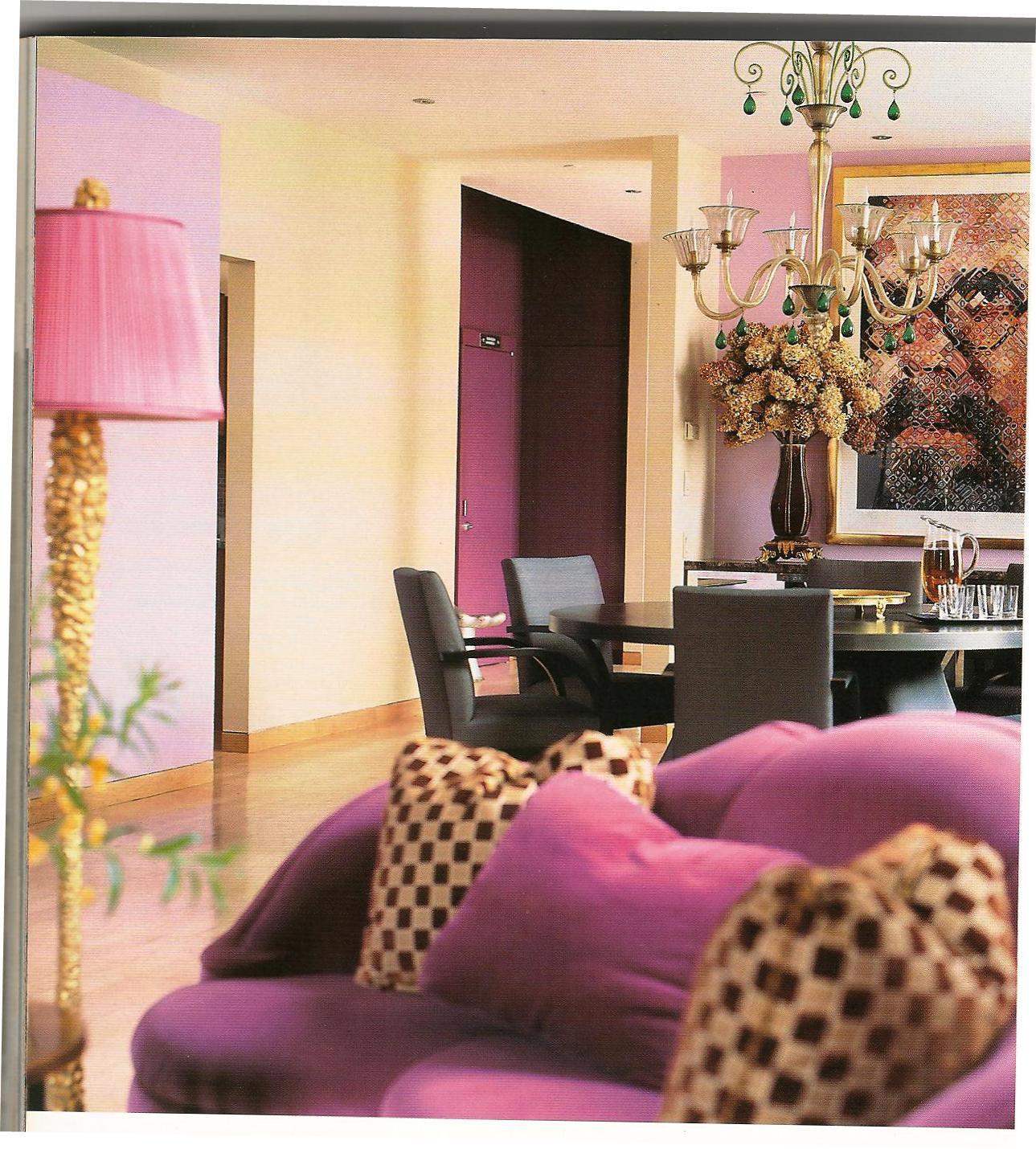 Magenta a cor da decoração 2011 Decoração de Interiores ~ Quarto Rosa Fucsia