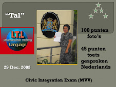 "Congratulation to ""Tal"" for 100% (foto's score)"