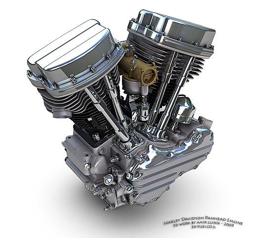 Panhead Engine on Harley Chopper Wiring Diagram
