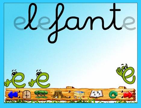 Palabras que empiecen con la letra e para niños - Imagui