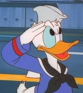 Donald Duck Introduced in 1934
