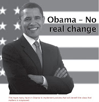 Obama – No real change