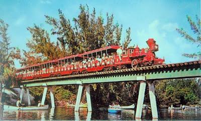 Birch State Park Railroad in 1970