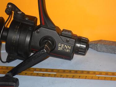 Penn Graphite Rear Drag 250 GL -  (2nd) EXLANT Cond. RM300 BARGIN ITEM