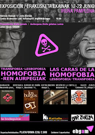 2009-06-12/22 . Iruñea > HOMOFOBIAREN AURPEGIAK ERAKUSKETA