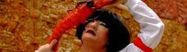 2009-07-24 . MARIAFARIA ETA IKUSKIZUNA ERRENTERIAKO JAIETAN