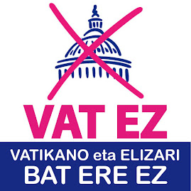 VAT.EZ | HEMEN ERE VATIKANO ETA ELIZARI BAT ERE EZ