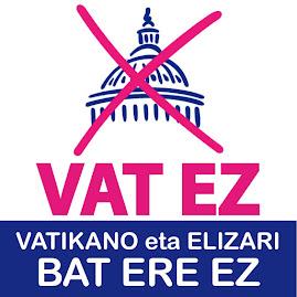 VAT.EZ | HEMEN ERE VATIKANO ETA ELIZARI BAT ERE EZ