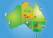 This is my map of australia targeted towards kids. However this map is still . (chris childrens map)