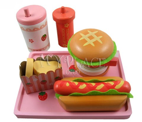 Hamburger Hot Dog Set