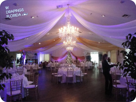As you see in the images below we combined our classic white drapes with a