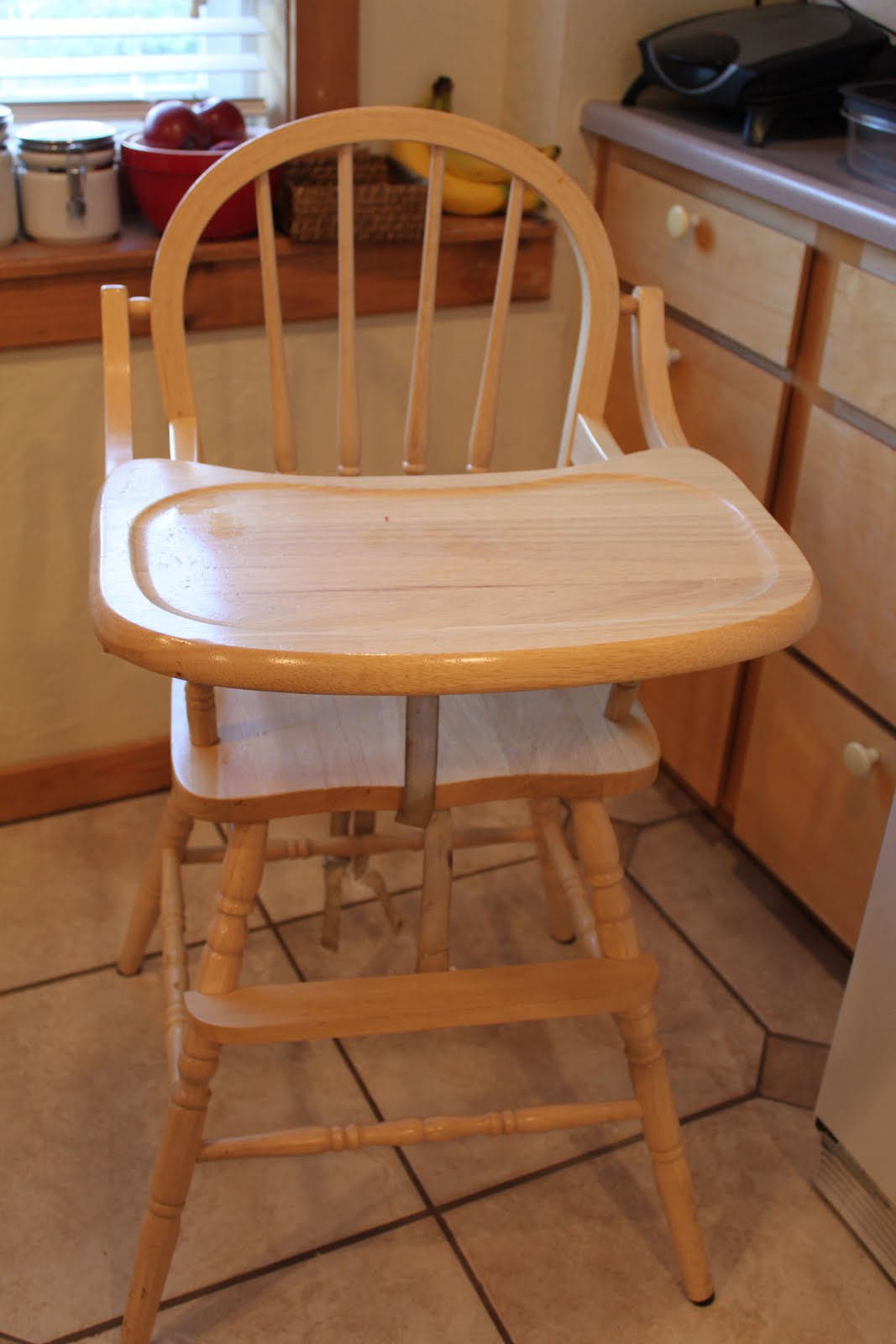 Wooden high chair my dream highchair from online