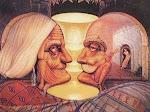 O que você vê: Um casal de idosos ou dois mexicanos?