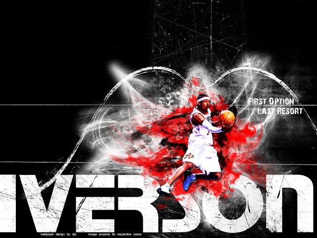 nba allen iverson wallpaper. Top NBA Wallpapers: Allen
