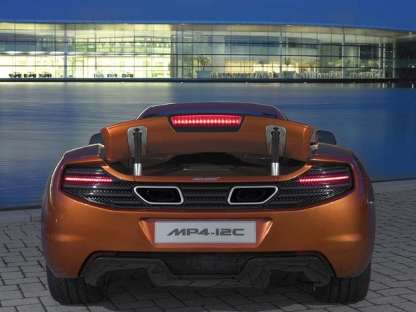 2011 McLaren MP4-12C Sports