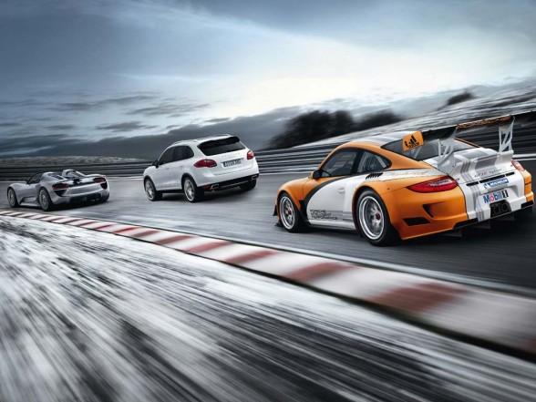 Porsche 918 Spyder Concept Study. 2011 Porsche 918 Spyder
