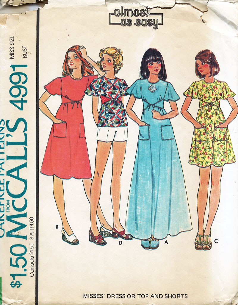 another cute 1960s mod dress
