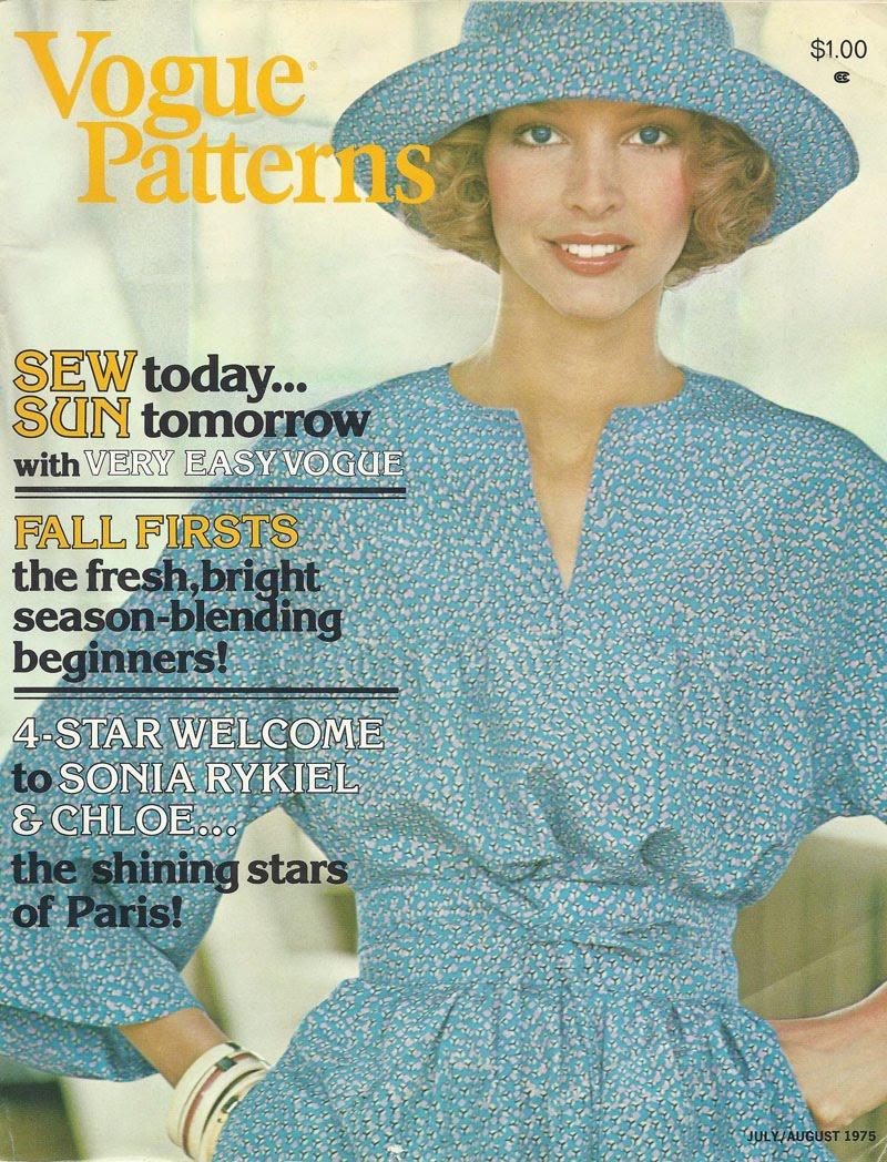 Miss Dandy: A Look Inside VOGUE PATTERNS Magazine - July/August 1975