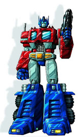 Personaje: Optimus Prime. Serie: Transformers: