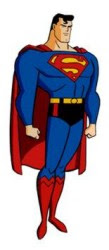 Personaje: Superman. Serie: Liga de la justicia: