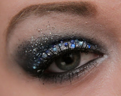 masquerade eye makeup. So I added Make Up Store#39;s